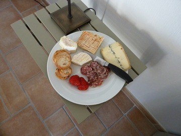 Cheese and Salami