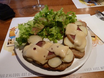 Cheese, Smoked Duck and Potatoes