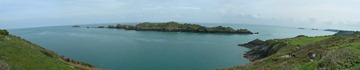 The view from the peninsula at Pointe du Grouin