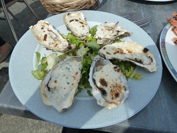 Oysters with Cream